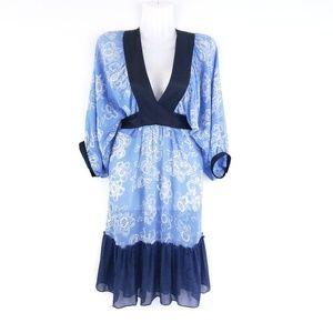 Anthropologie Moulinette Soeurs Silk Kimono Dress